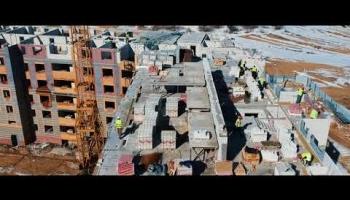 Embedded thumbnail for Видеоотчет со строительства жилого дома 214 от 05.04.2018