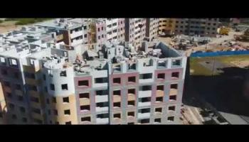 Embedded thumbnail for Видеоотчет со строительства жилого дома 214 от 16.06.2018 г.